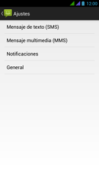BQ Aquaris 5 HD - Mensajería - Configurar el equipo para mensajes de texto - Paso 6