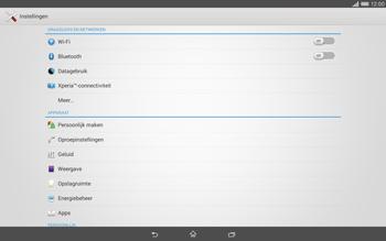 Sony Xperia Tablet Z2 (SGP521) - Netwerk - gebruik in het buitenland - Stap 6