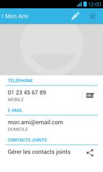 Bouygues Telecom Bs 401 - Contact, Appels, SMS/MMS - Ajouter un contact - Étape 10