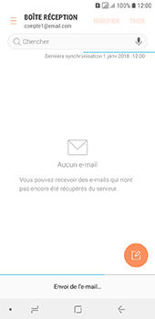 Samsung Galaxy A6 - E-mail - envoyer un e-mail - Étape 18