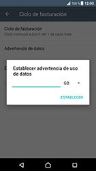 Sony Xperia XZ - Android Nougat - Internet - Ver uso de datos - Paso 9