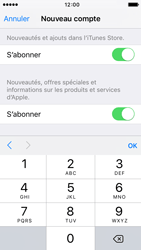Apple iPhone SE - Applications - Créer un compte - Étape 16