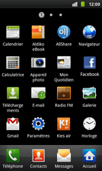 Samsung I9001 Galaxy S Plus - Wifi - configuration manuelle - Étape 2