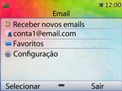 Huawei U6020 - Email - Como configurar seu celular para receber e enviar e-mails - Etapa 4
