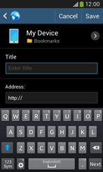 Samsung S7275 Galaxy Ace III - Internet - Internet browsing - Step 10