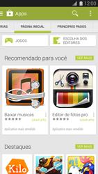 Samsung G900F Galaxy S5 - Aplicativos - Como baixar aplicativos - Etapa 5