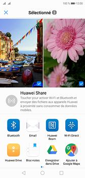 Huawei P20 - Photos, vidéos, musique - Envoyer une photo via Bluetooth - Étape 9