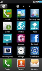 Samsung Wave 2 - Internet et connexion - Partager votre connexion en Wi-Fi - Étape 3
