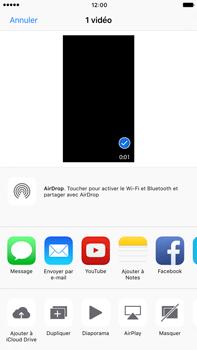 Apple iPhone 7 Plus - Photos, vidéos, musique - Créer une vidéo - Étape 11