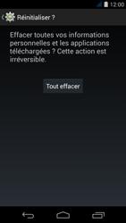 Acer Liquid Jade S - Device maintenance - Retour aux réglages usine - Étape 8