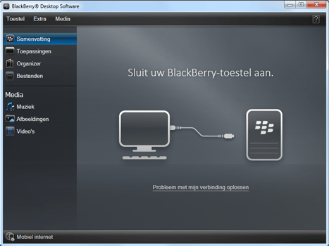 BlackBerry 9900 Bold Touch - Software - Installeer firmware update - Stap 3