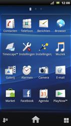 Sony Ericsson Xperia Arc - MMS - afbeeldingen verzenden - Stap 2