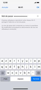 Apple iPhone XS - Internet - Configurer un point d'accès mobile - Étape 5