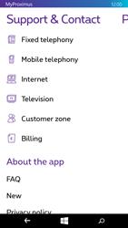 Microsoft Lumia 640 - Applications - MyProximus - Step 24