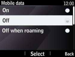 Nokia Asha 210 - Internet - Enable or disable - Step 7