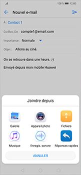Huawei Mate 20 lite - E-mails - Envoyer un e-mail - Étape 10