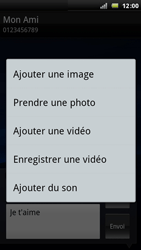 Sony Ericsson Xperia Arc - MMS - envoi d'images - Étape 10