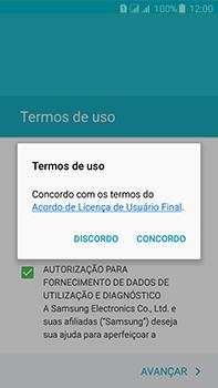 Samsung Galaxy J7 - Primeiros passos - Como ativar seu aparelho - Etapa 9