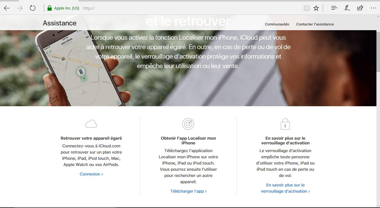 Apple iPhone XS - iOS 12 - Sécuriser votre mobile - Configuration pour retrouver son mobile en cas de perte/vol - Étape 4