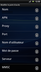 Sony Ericsson Xperia Ray - Internet - configuration manuelle - Étape 9