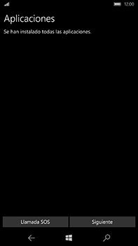 Microsoft Lumia 950 XL - Primeros pasos - Activar el equipo - Paso 15