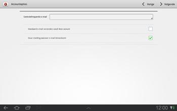 Samsung P7500 Galaxy Tab 10-1 - E-mail - e-mail instellen: IMAP (aanbevolen) - Stap 12