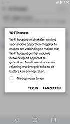 LG K10 (2017) (LG-M250n) - WiFi - Mobiele hotspot instellen - Stap 9