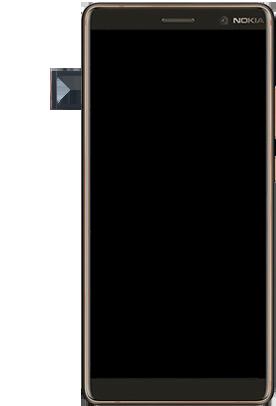 Nokia 7 Plus - Premiers pas - Insérer la carte SIM - Étape 5