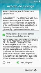 Samsung Galaxy A5 - Primeiros passos - Como ativar seu aparelho - Etapa 9
