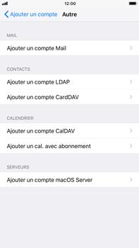 Apple iPhone 6 Plus - iOS 11 - E-mail - Configuration manuelle - Étape 6