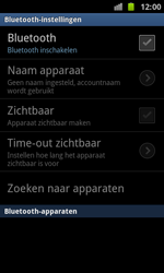 Samsung I8160 Galaxy Ace II - Bluetooth - Koppelen met ander apparaat - Stap 6