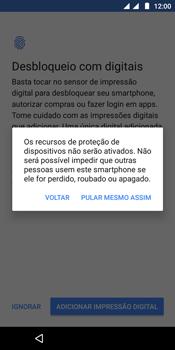 Motorola Moto E5 - Primeiros passos - Como ativar seu aparelho - Etapa 14