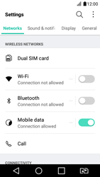 LG K4 2017 - Internet - Enable or disable - Step 3