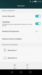 Huawei Ascend G7 - Bluetooth - Conectar dispositivos a través de Bluetooth - Paso 6