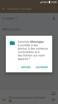 HTC Desire 825 - Contact, Appels, SMS/MMS - Envoyer un MMS - Étape 14