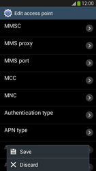 Samsung I9505 Galaxy S IV LTE - MMS - Manual configuration - Step 14
