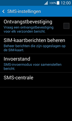 Samsung G357 Galaxy Ace 4 - SMS - Handmatig instellen - Stap 7