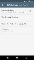 Sony Xperia XZ - Android Nougat - Internet no telemóvel - Configurar ligação à internet -  8