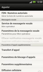 HTC T320e One V - Messagerie vocale - Configuration manuelle - Étape 5