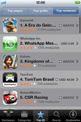 Apple iPhone iOS 5 - Aplicativos - Como baixar aplicativos - Etapa 14