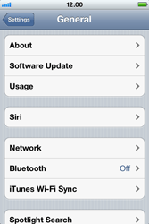 Apple iPhone 4 S - Internet - Disable data roaming - Step 4