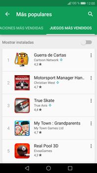 Huawei Mate 9 - Aplicaciones - Descargar aplicaciones - Paso 12