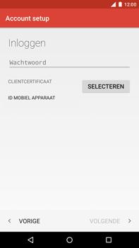 Motorola Moto X Style - E-mail - Handmatig instellen - Stap 12