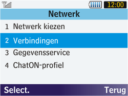 Samsung S3570 Chat 357 - MMS - handmatig instellen - Stap 6