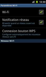 Samsung I9100 Galaxy S II - Wifi - configuration manuelle - Étape 5