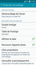 Samsung Galaxy A3 (A300FU) - Sécuriser votre mobile - Activer le code de verrouillage - Étape 11