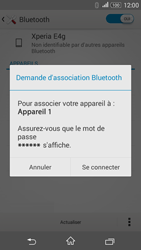 Sony E2003 Xperia E4G - Bluetooth - connexion Bluetooth - Étape 9