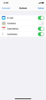 Apple iPhone X - iOS 13 - Email - Como configurar seu celular para receber e enviar e-mails - Etapa 8