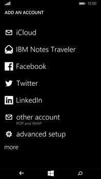 Microsoft Lumia 640 XL - E-mail - Manual configuration - Step 7