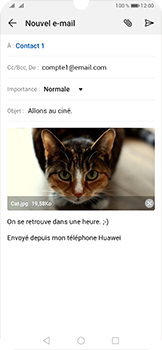Huawei P30 - E-mail - envoyer un e-mail - Étape 15